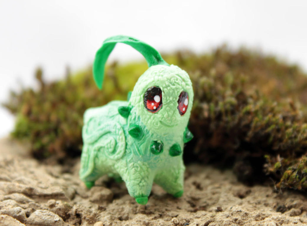 Tiny Chikorita by hontor