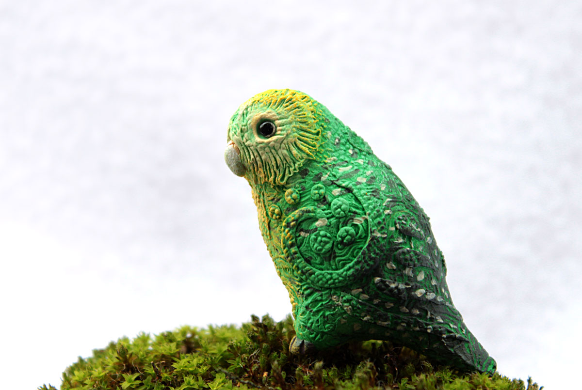 Kakapo totem comission by hontor on DeviantArt