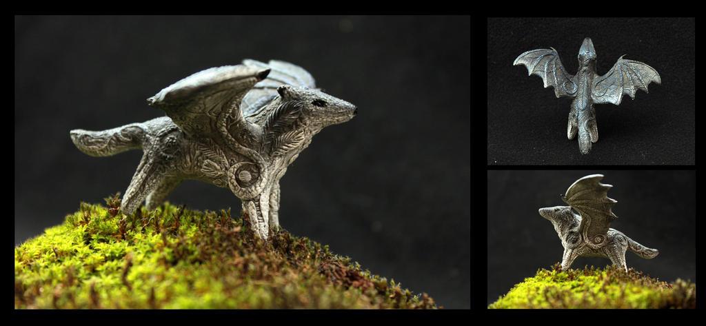Dragonwolf by hontor