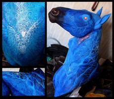 Year of the Blue Horse progress IV
