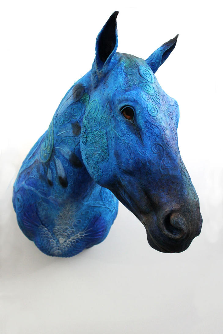 Blue Horse Year I by hontor