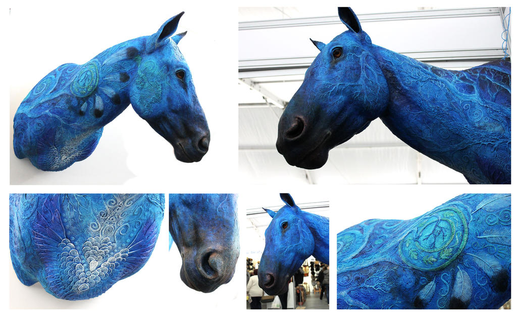 Blue Horse Year II by hontor