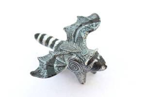 Draccoon Raccoon totem by hontor