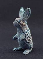 Steampunk rabbit