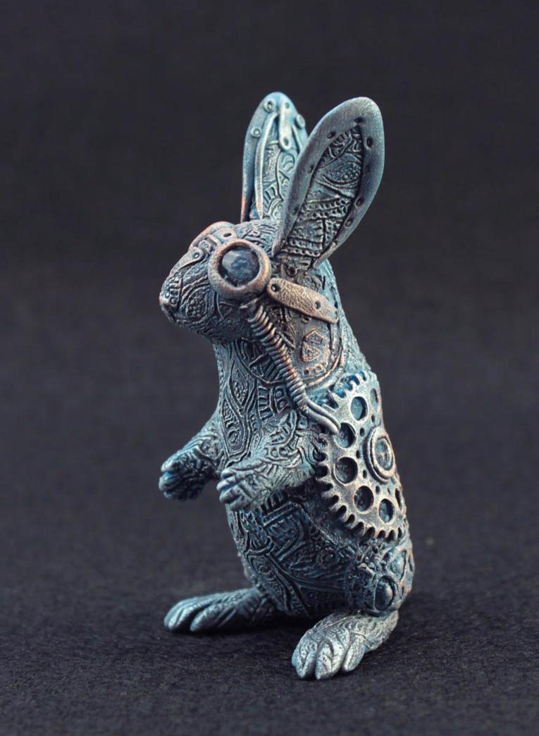Steampunk rabbit by hontor