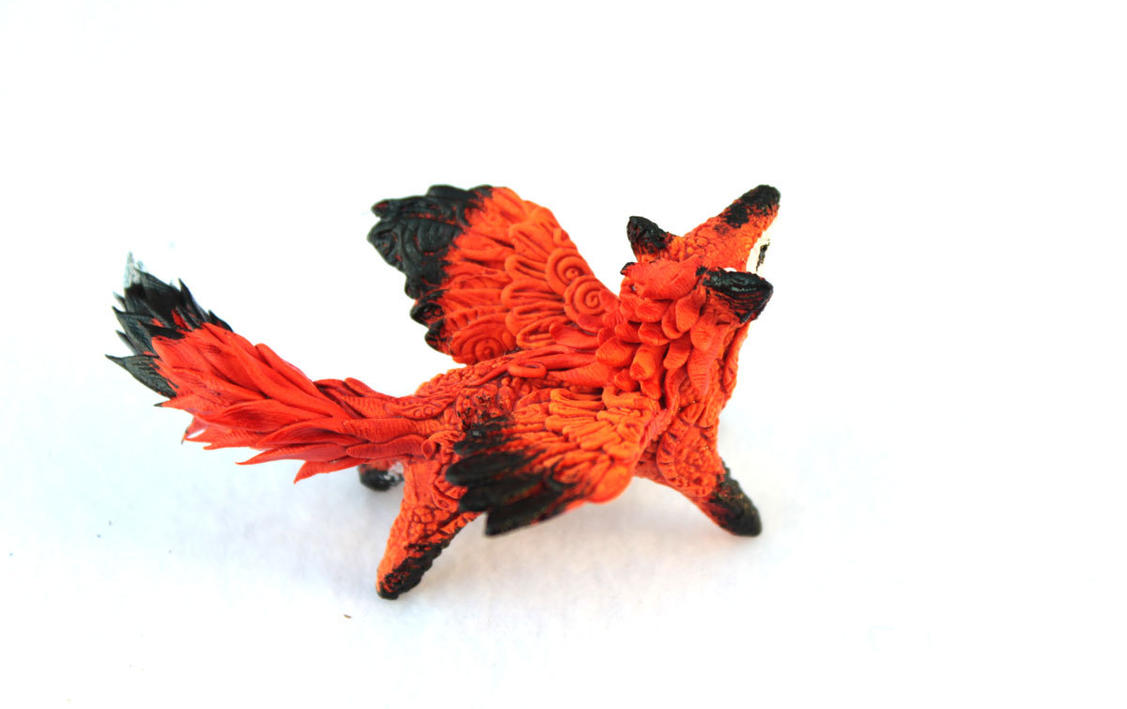 Winged fox I by hontor