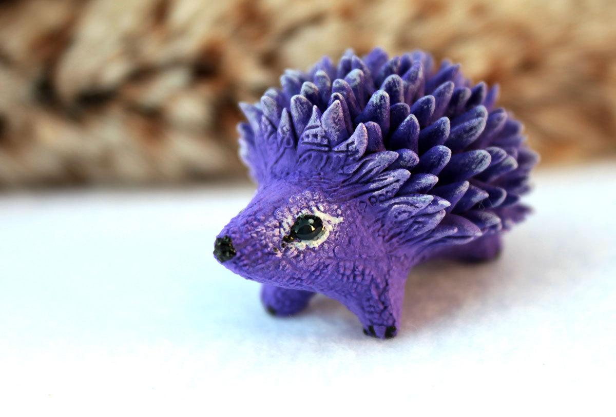 Purple hedgehog by hontor