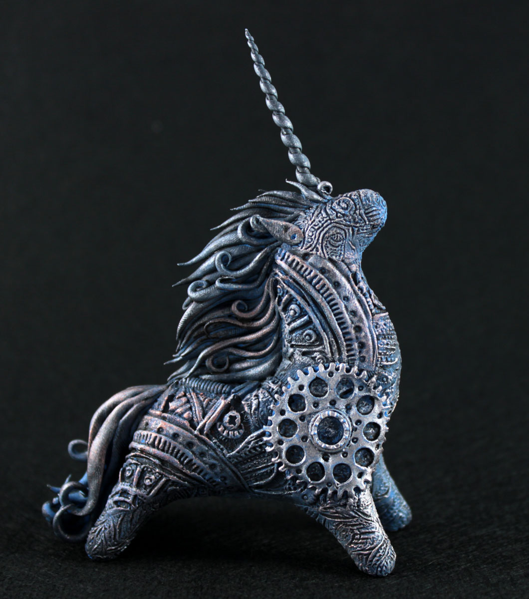 Steampunk Unicorn II by hontor