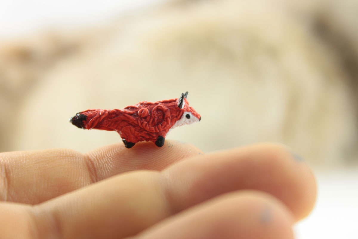 Tiny fox by hontor