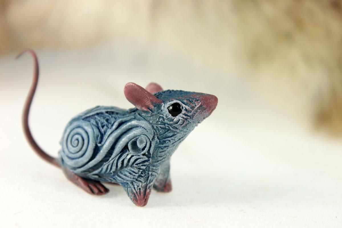 Little blue rat II by hontor