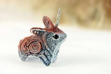 Unicorn Jackalope II by hontor