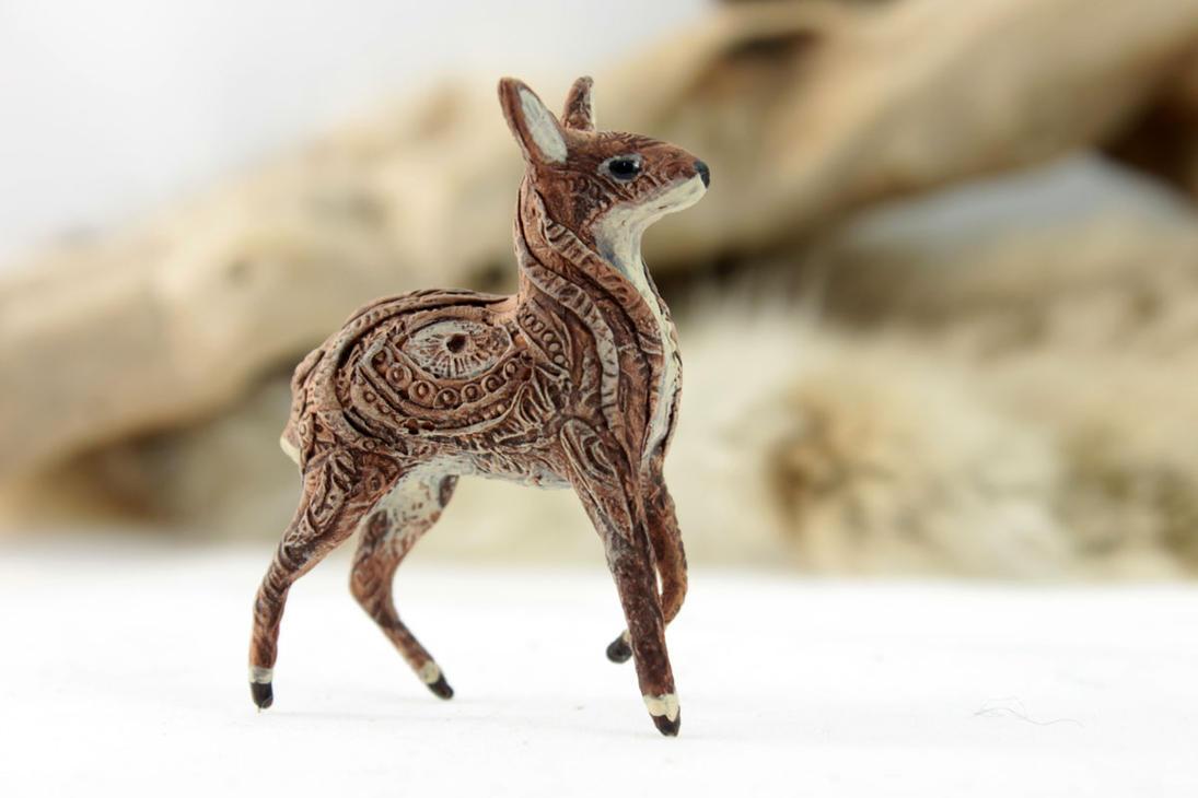 Magic Deer Spirit By Hontor On DeviantArt