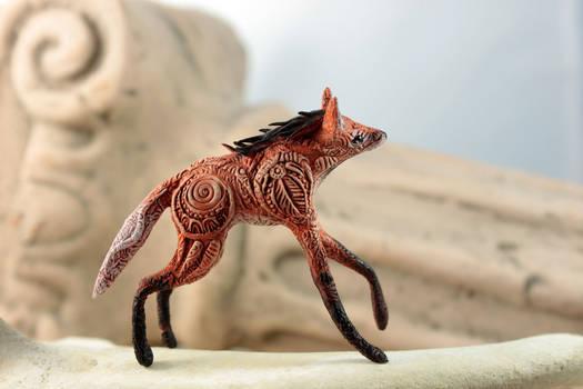 Maned Wolf Totem