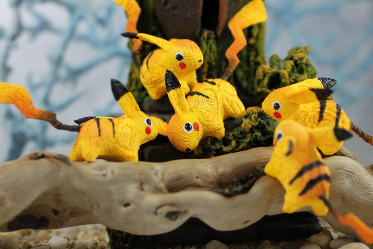 Pikachu plays II by hontor