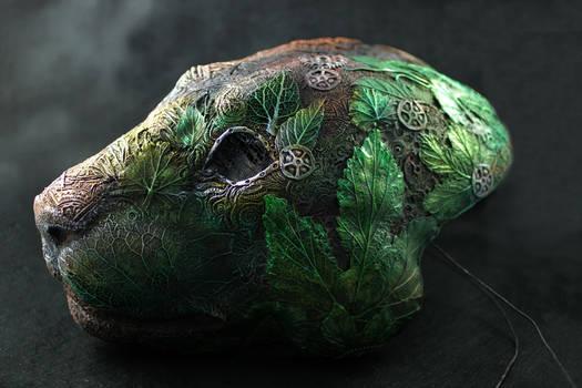 Cyberpunk Druid Mask I