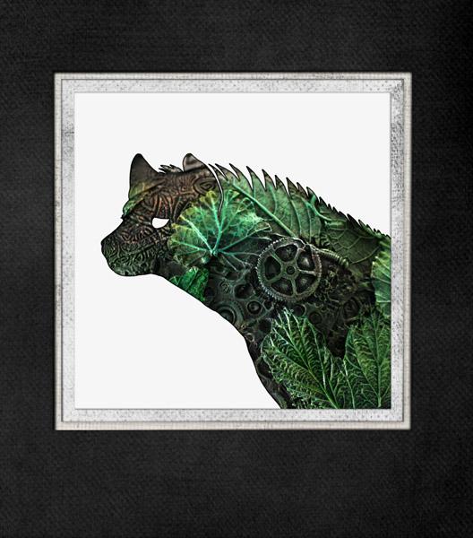 Green Hyena by hontor