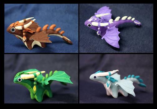 Plush dragons