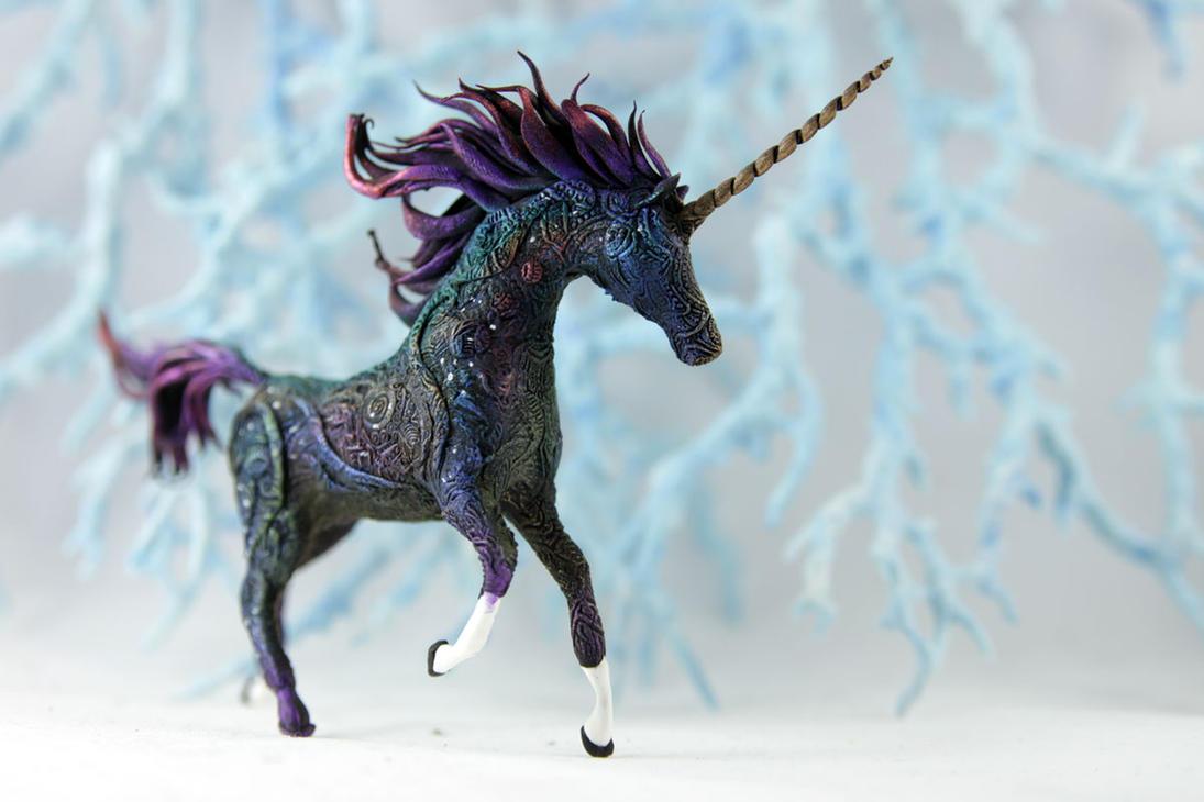 black unicorn collab by hontor on deviantart
