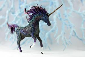 Black unicorn (collab) by hontor