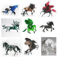 Horses by Svetlana Hitrovo by hontor