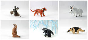 July totem creatures by hontor