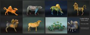 OOAK creatures by Laida Feliya by hontor