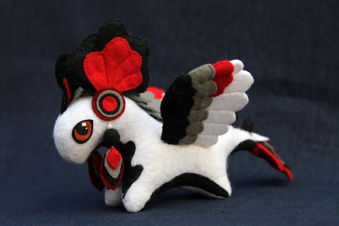 Feathered dragon plush by hontor