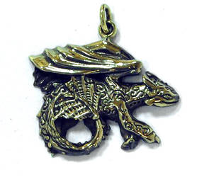 Toothless pendant by hontor