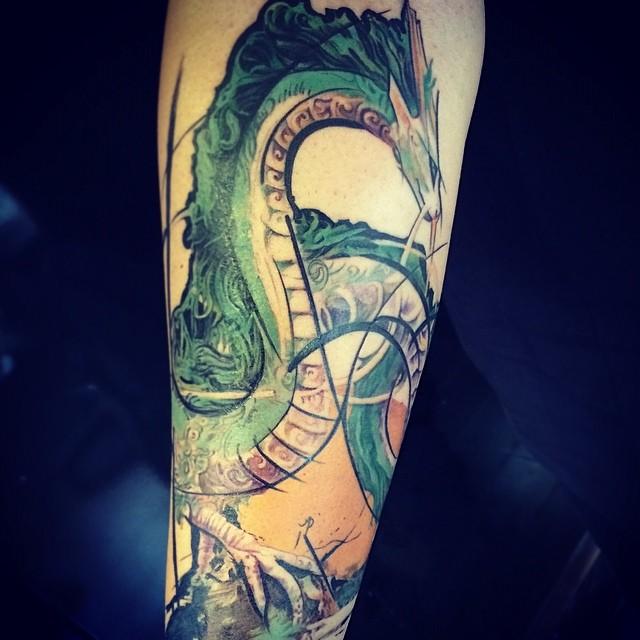 Haku Dragon Tattoo: Tattoo Ideas Favourites By H-Kigeki On DeviantArt