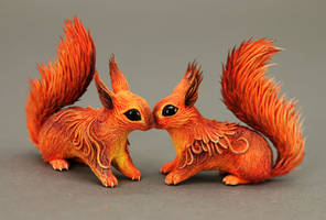 Squirrels commissions by hontor