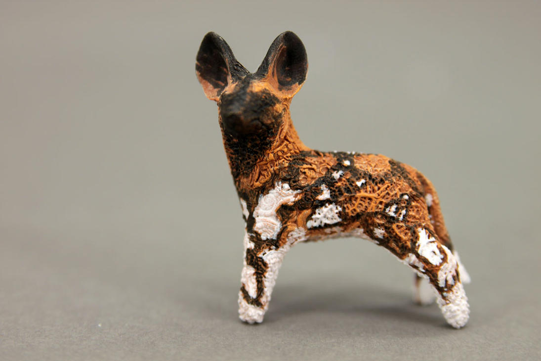 African wild dog totem - new version by hontor