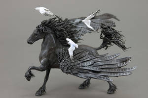 Pegasus with Seagulls