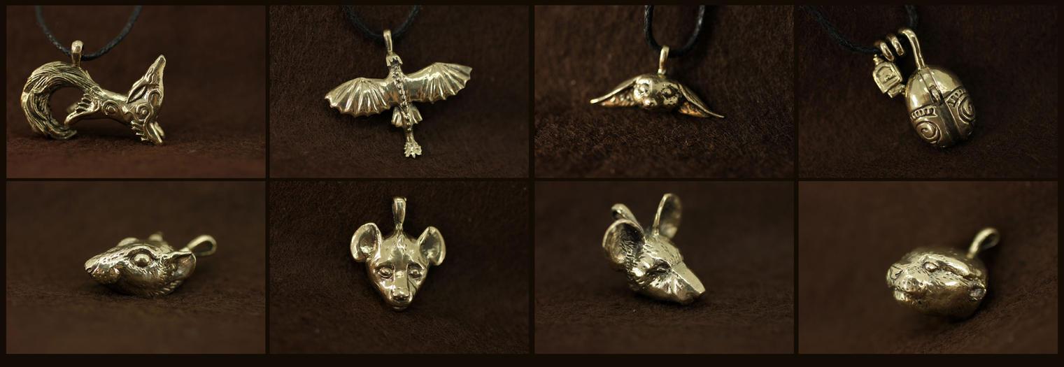 March pendants II by hontor