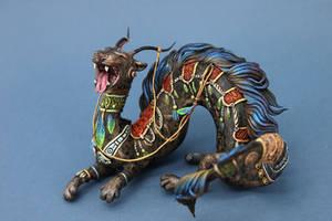 Yawning beast I by hontor