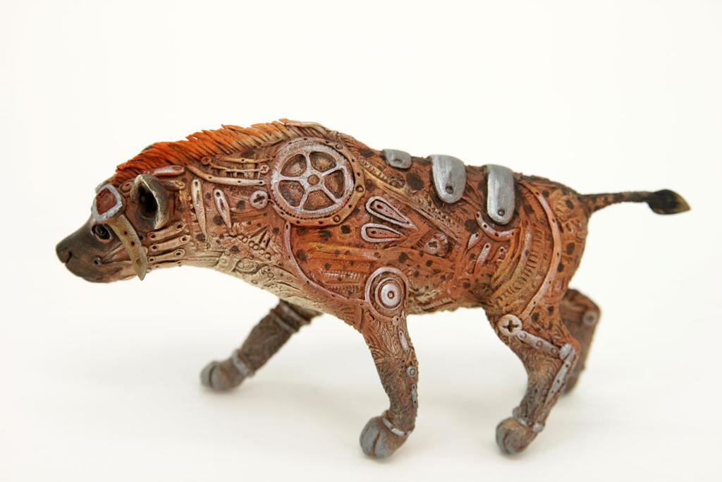 Steampunk hyena by hontor