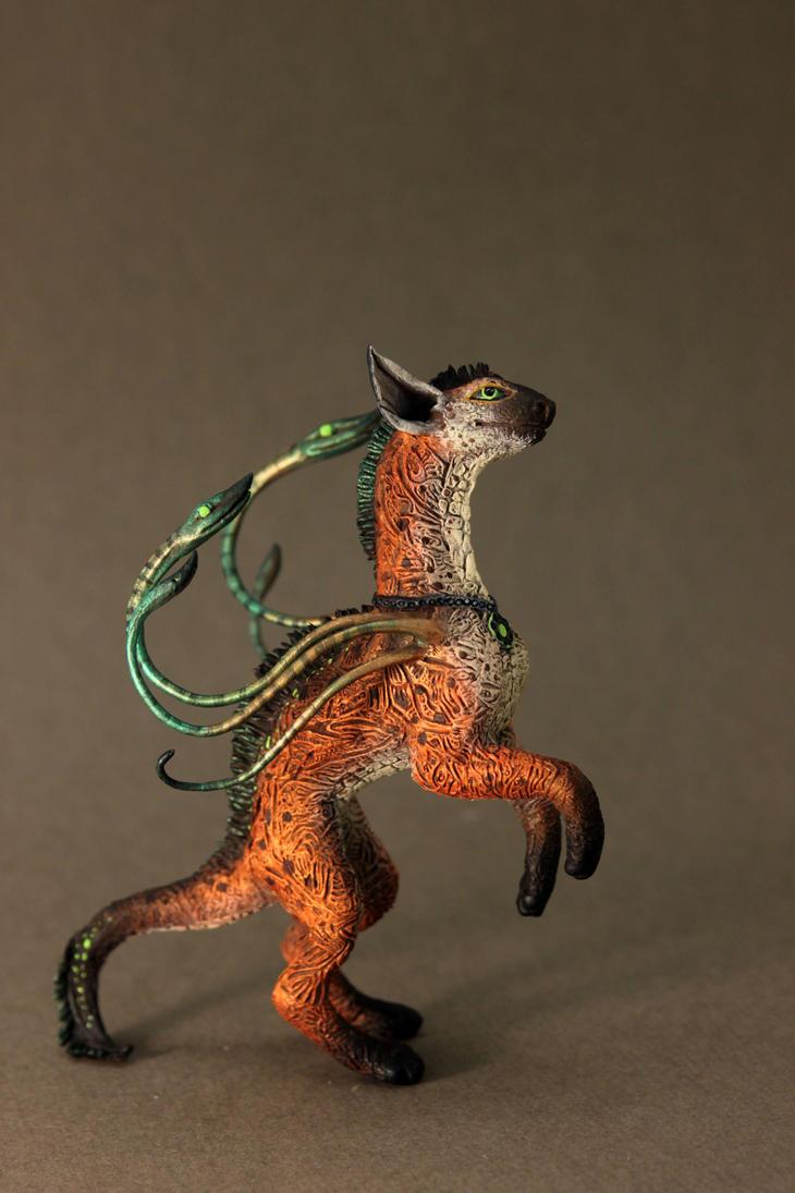 Serpentary Alavra - ooak creature by hontor