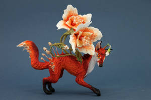 Flower fox by hontor