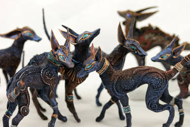 Anubis family by hontor