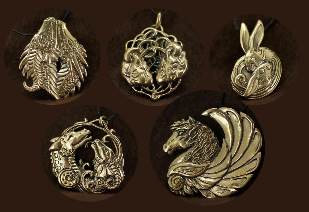 July pendants II by hontor