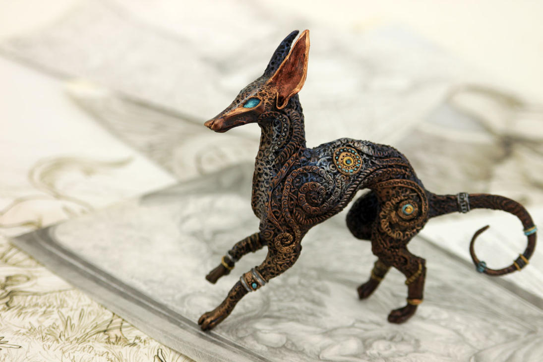 Anubis dog by hontor