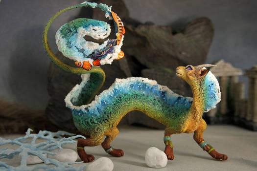 Cat-dragon Sea Foam