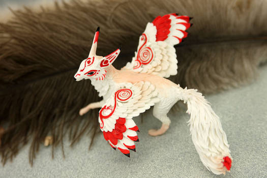 Winged kitsune