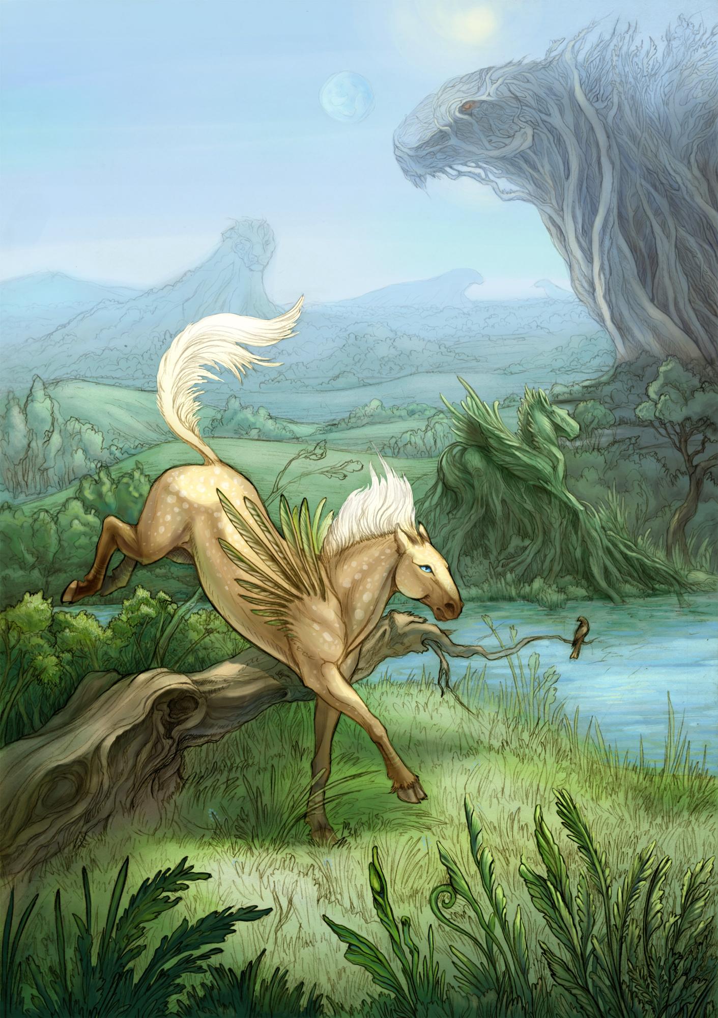 Pegasus of Luarill by hontor