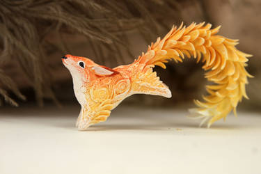 Sun Kitsune by hontor