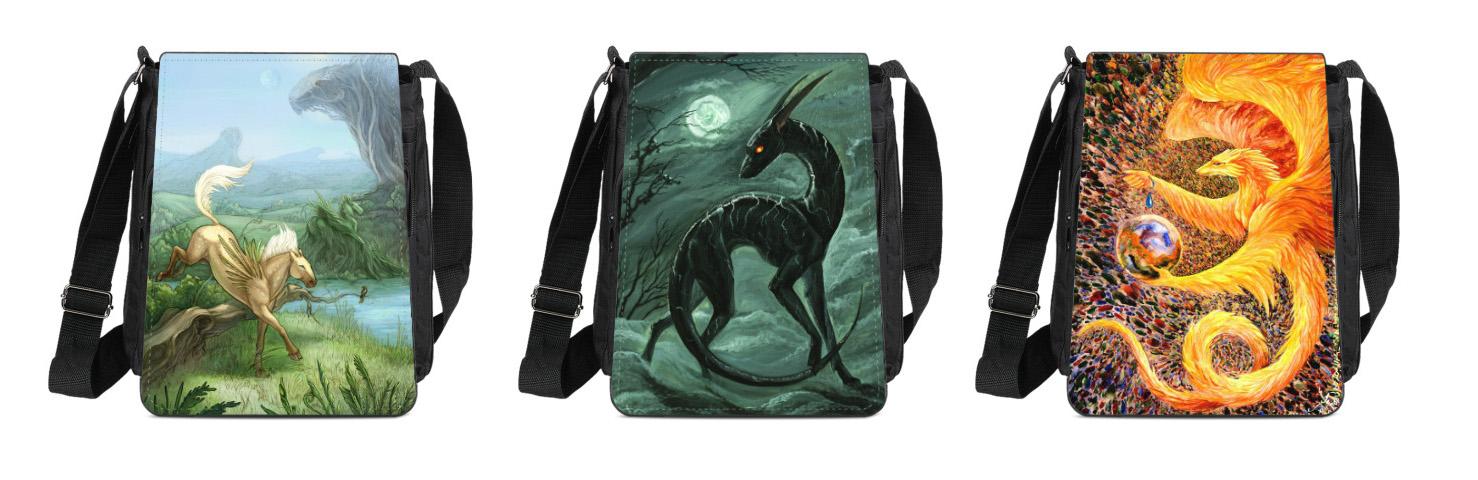 Messenger Bags by hontor
