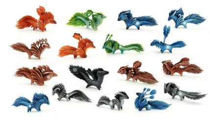 Little Shandal dragons