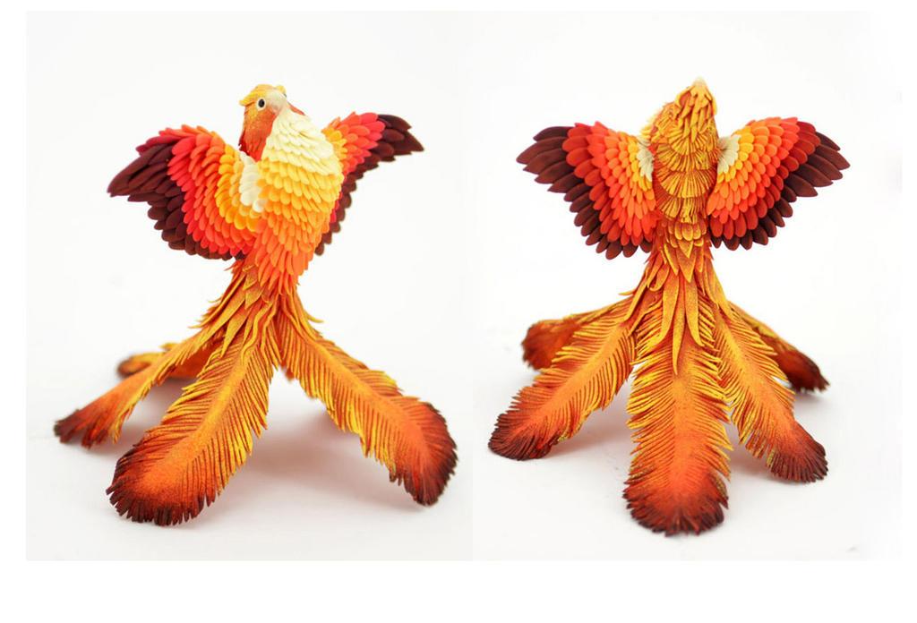 Fire Phoenix by hontor