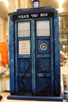 TARDIS 1:4 in progress by hontor