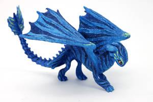 Avatar inspired Night Fury - Na'vi by hontor