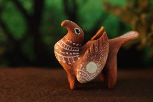 Ceramic-like gryphon